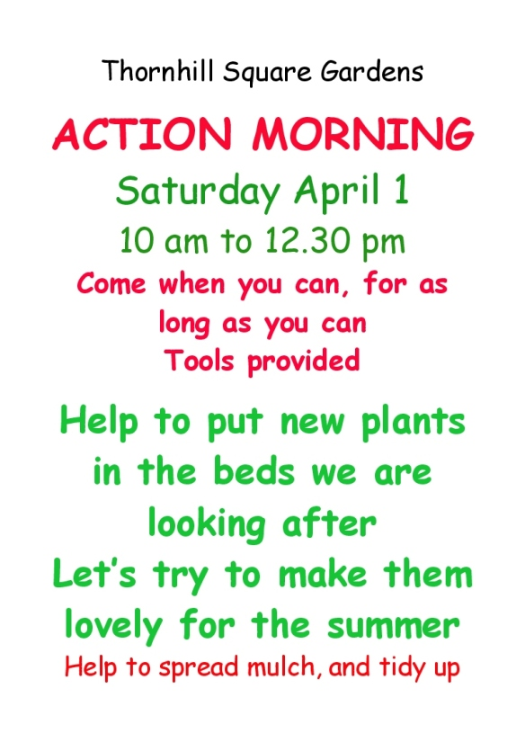gardening morning poster 1 april 2017